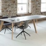 Copse Table - Standard Height - Pip Power Units - Uni M Chairs