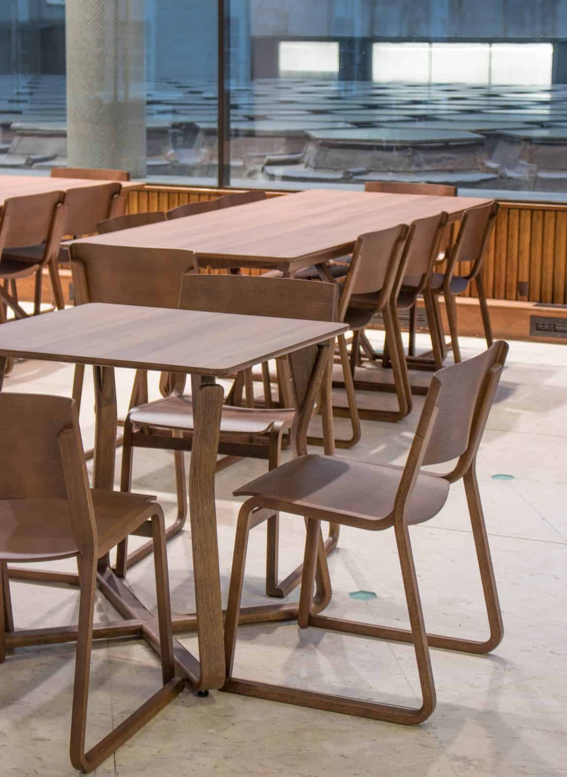 Theo Folding Tables & Theo Chairs (6)